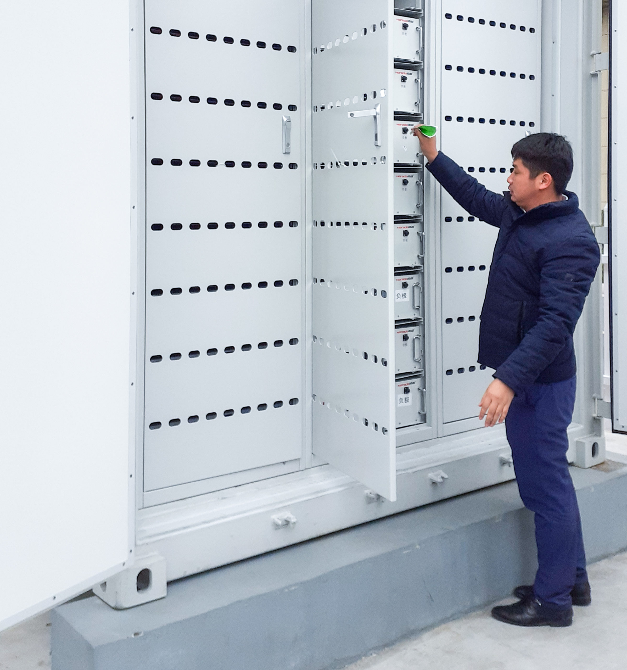 Inspections of the completely assembled energy storage system is